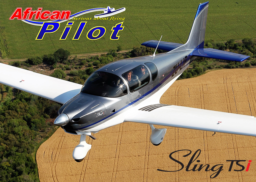 Sling TSi of The Airplane Factory on the cover of African Pilot magazine