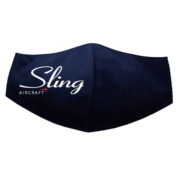 Sling Aircraft 3-Ply Fabric Face Mask selling on the Sling Store