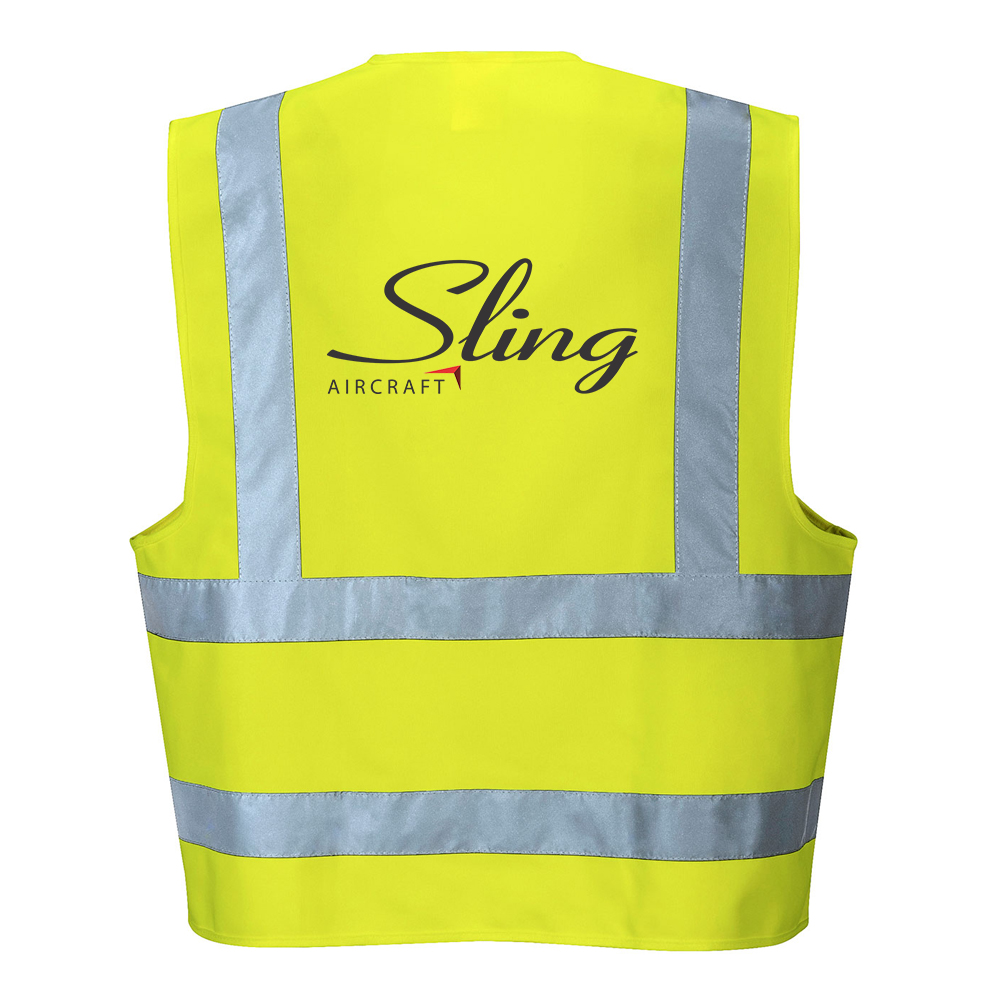 sling aircraft reflective vest now available on the sling store