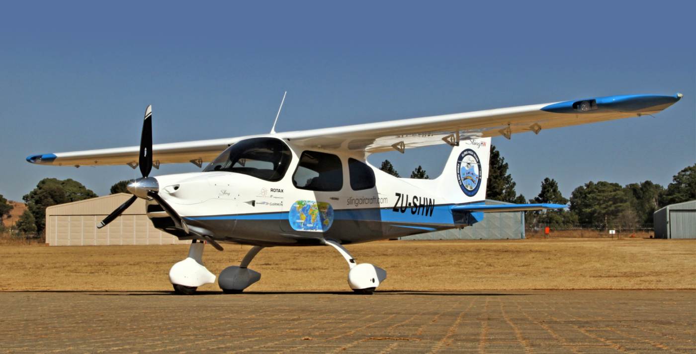 african pilot introduces the sling high wing in their september edition